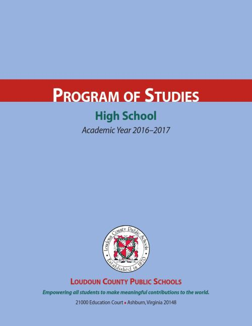 small resolution of LCPS 2016- 2017 High School Program of Studies by Kevin Terry - issuu