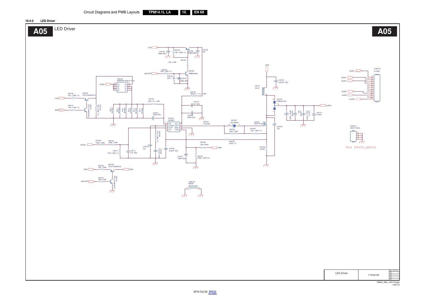 Manual de serviço televisor PHILIPS com o chassis TPM14.1L
