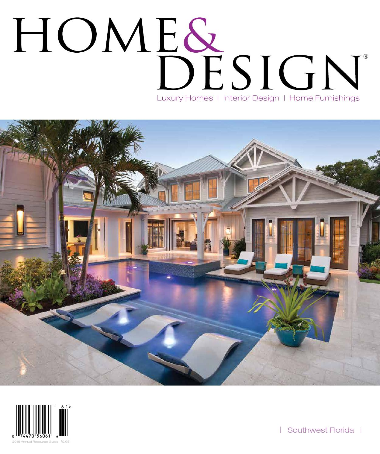 Home & Design Magazine Annual Resource Guide 2016 Southwest