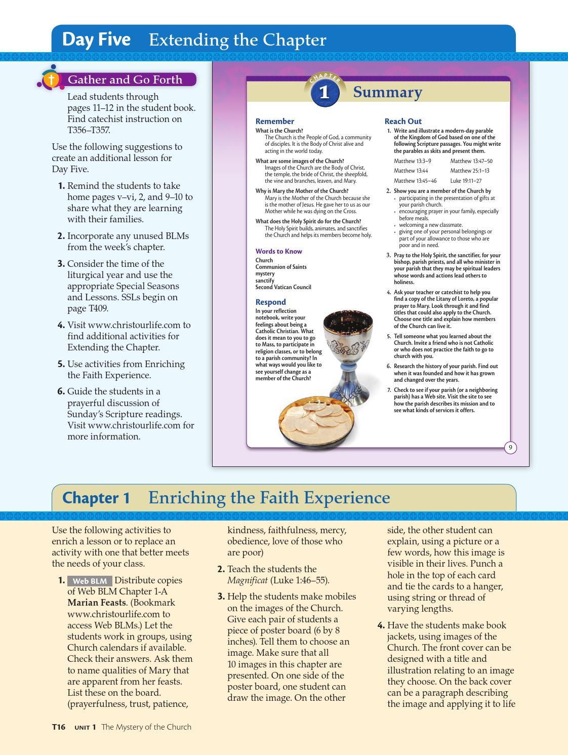 hight resolution of Christ Our Life 2016 Grade 8 Teacher School Edition by Loyola Press - issuu
