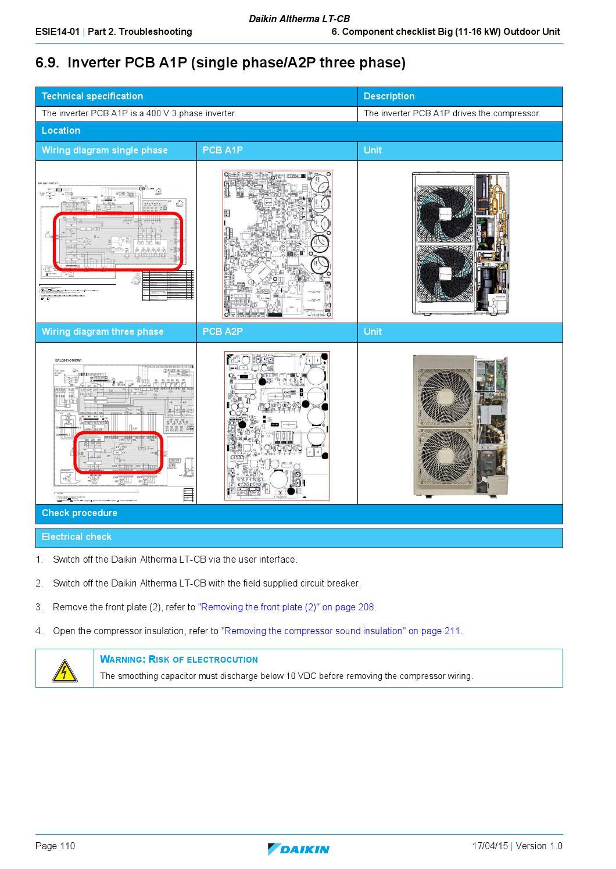 110 Circuit Wiring Diagram Daikin Altherma Lt Cb English Service Manual By Paulo