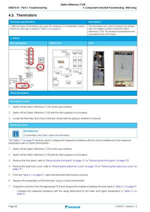 Daikin Altherma LTCB  English Service Manual by PAULO