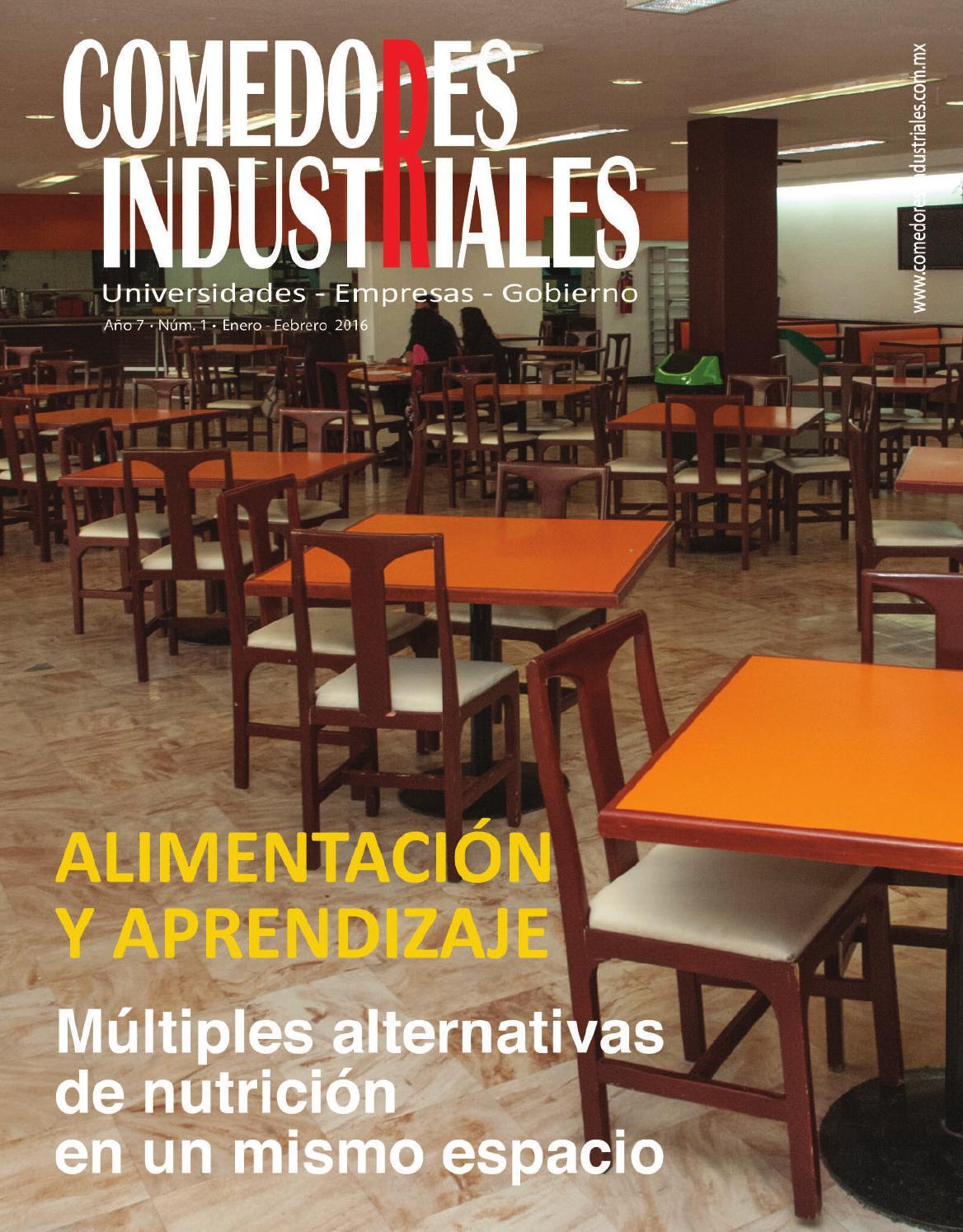 Comedores Industriales enero  febrero 2016 by Editorial
