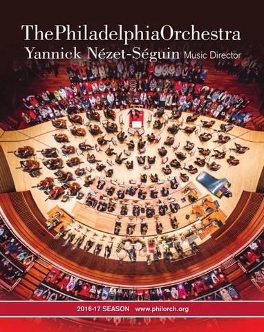 the philadelphia orchestra 2016