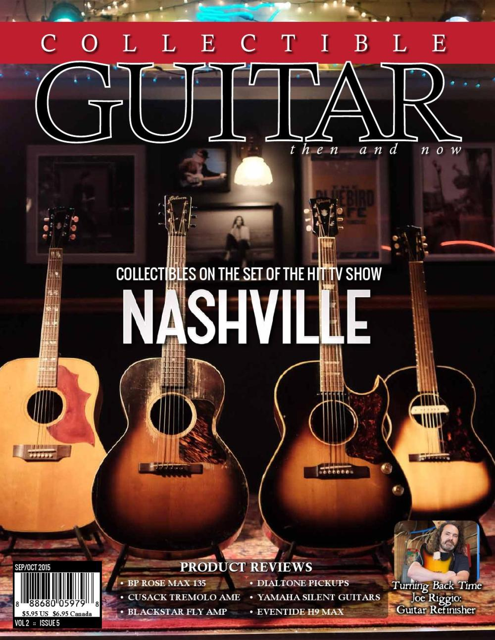 medium resolution of collectible guitar magazine then and now sep oct 2015 by collectible guitar
