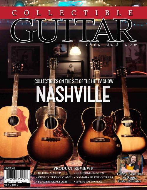 small resolution of collectible guitar magazine then and now sep oct 2015 by collectible guitar