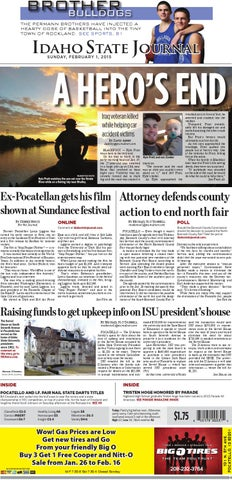 Idaho State Journal February 1, 2015 by Idaho State Journal - issuu
