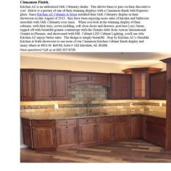 Kitchen Az Cabinets Aide Attachments In Phoenix Cinnamon Finish Espresso Glaze By All Wood Maple With A Raised Panel Is An Authorized J K Cabinetry Dealer