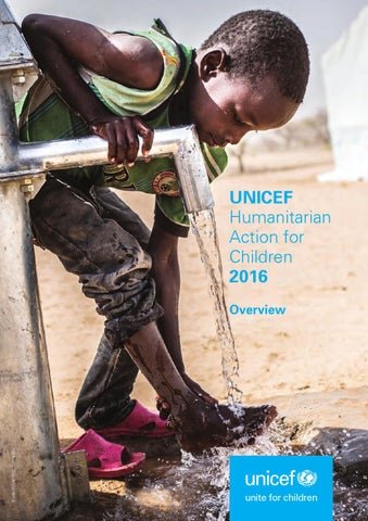 UNICEF Humanitarian Action for Children 2016 by UNICEF