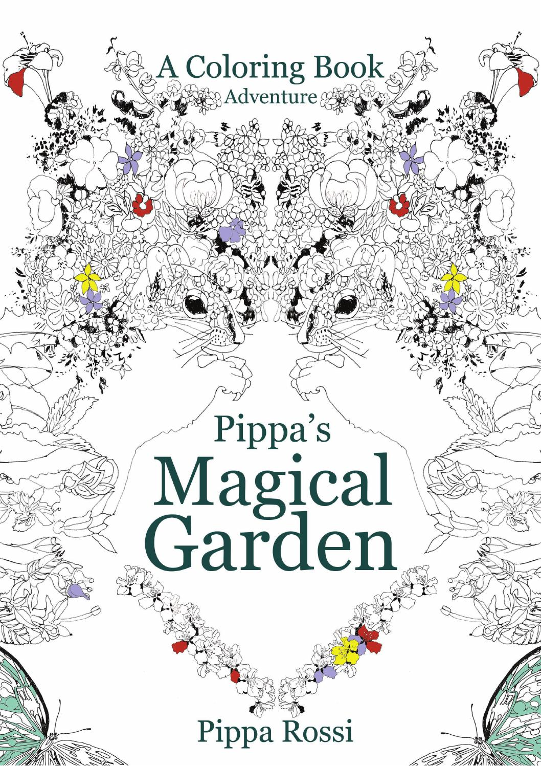 Magical Garden Coloring Book Pages