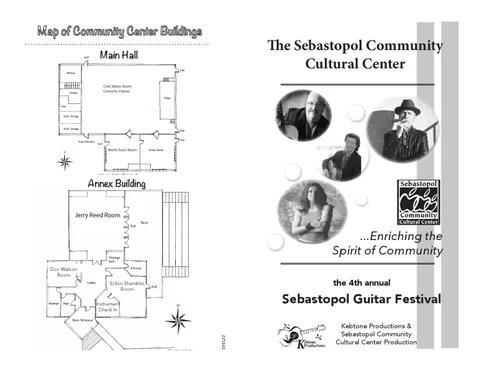 Guitar Festival Program 2016 by Sebastopol Community