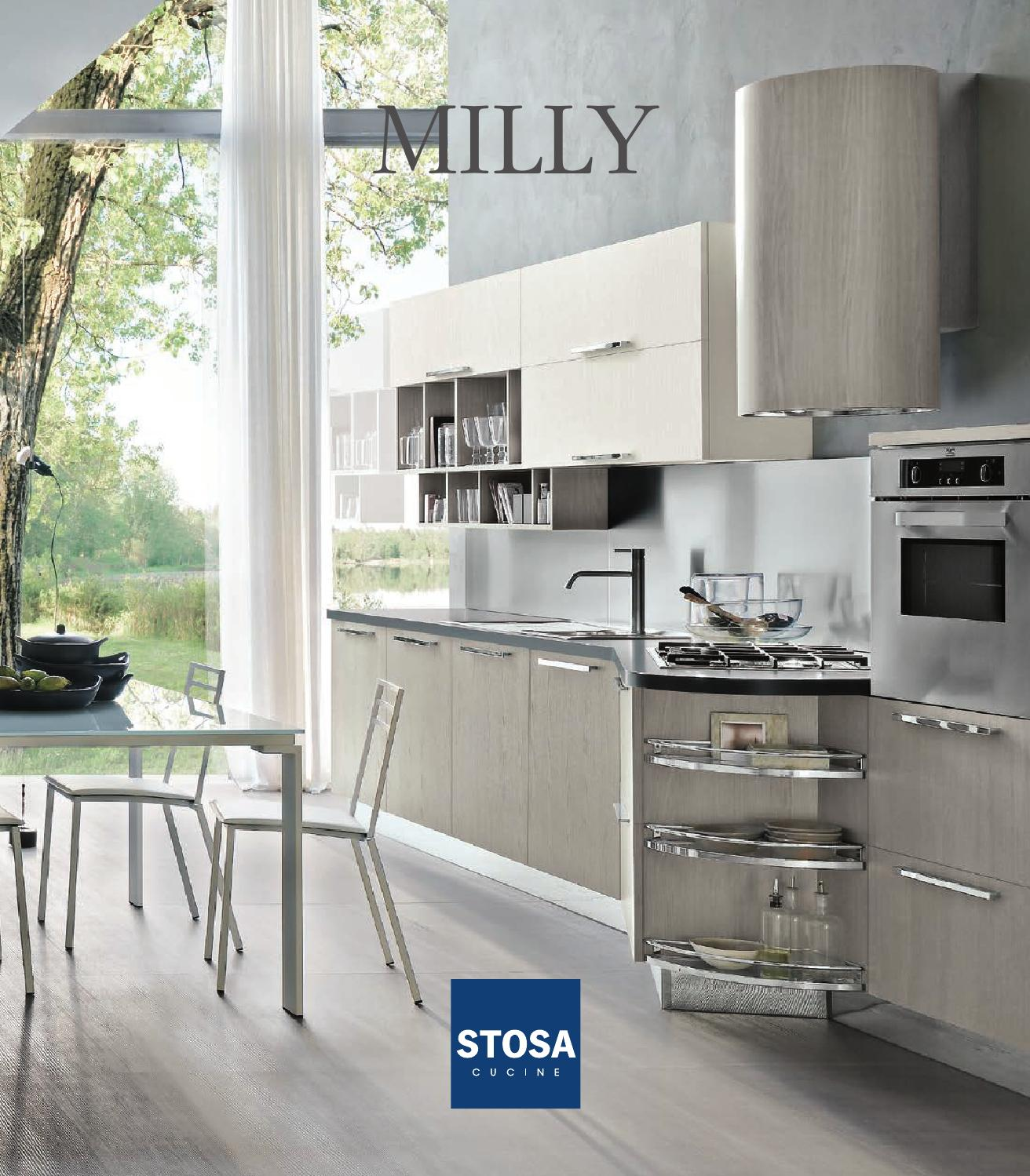 Cucina Ad Angolo Stosa Catalogo Cucine Moderne Stosa Milly By Stosa Cucine Issuu