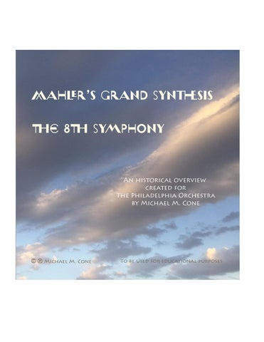 liner notes mahler by