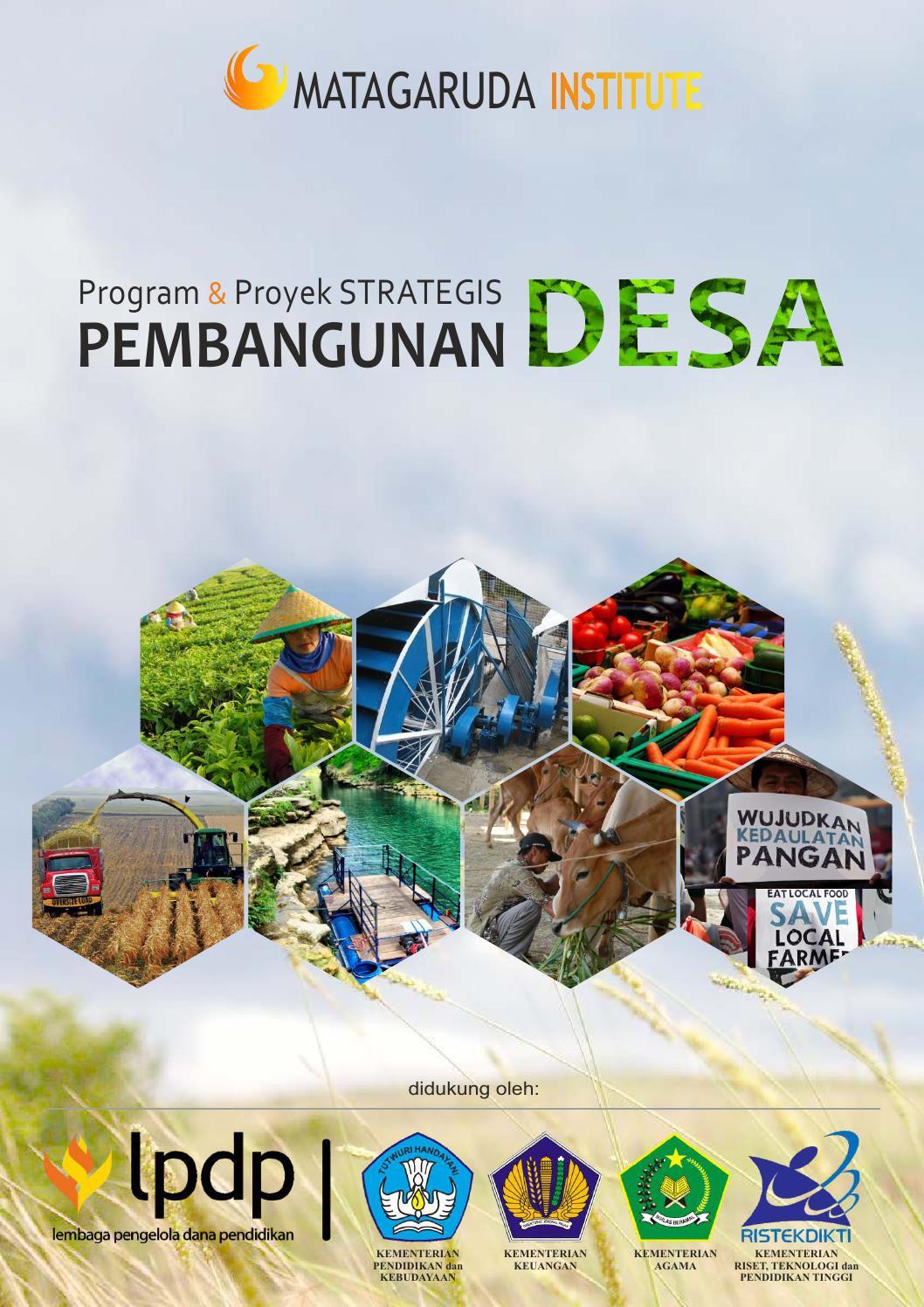 Buku Program dan Proyek Strategis Pembangunan Desa by Mata