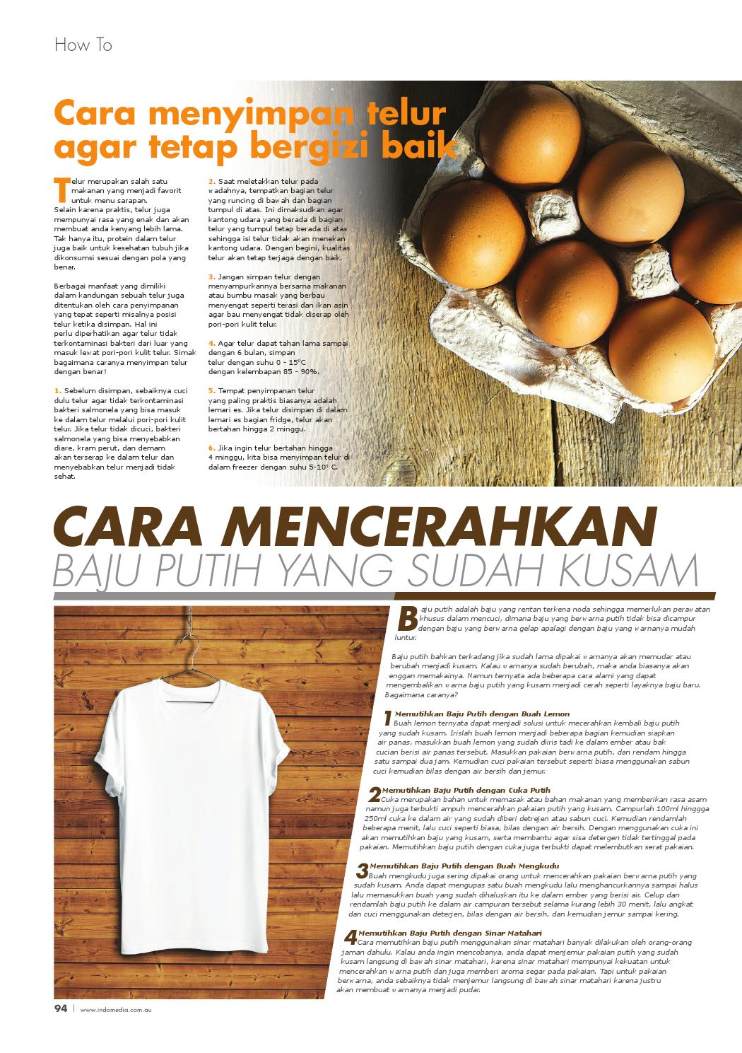 Cara Menyimpan Telur : menyimpan, telur, INDOMEDIA, FEBRUARY, Media, Issuu