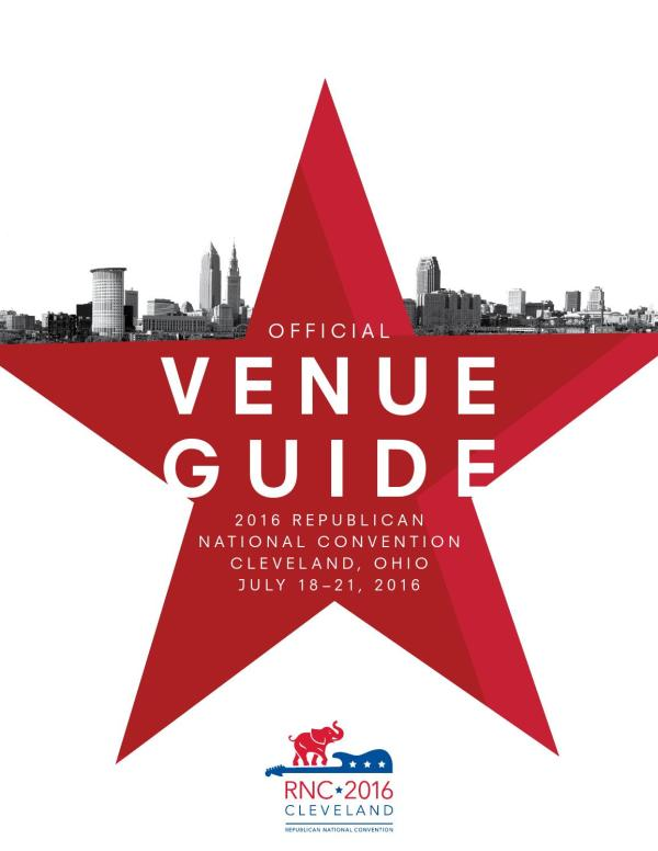 2016 Official Venue Guide Republican National