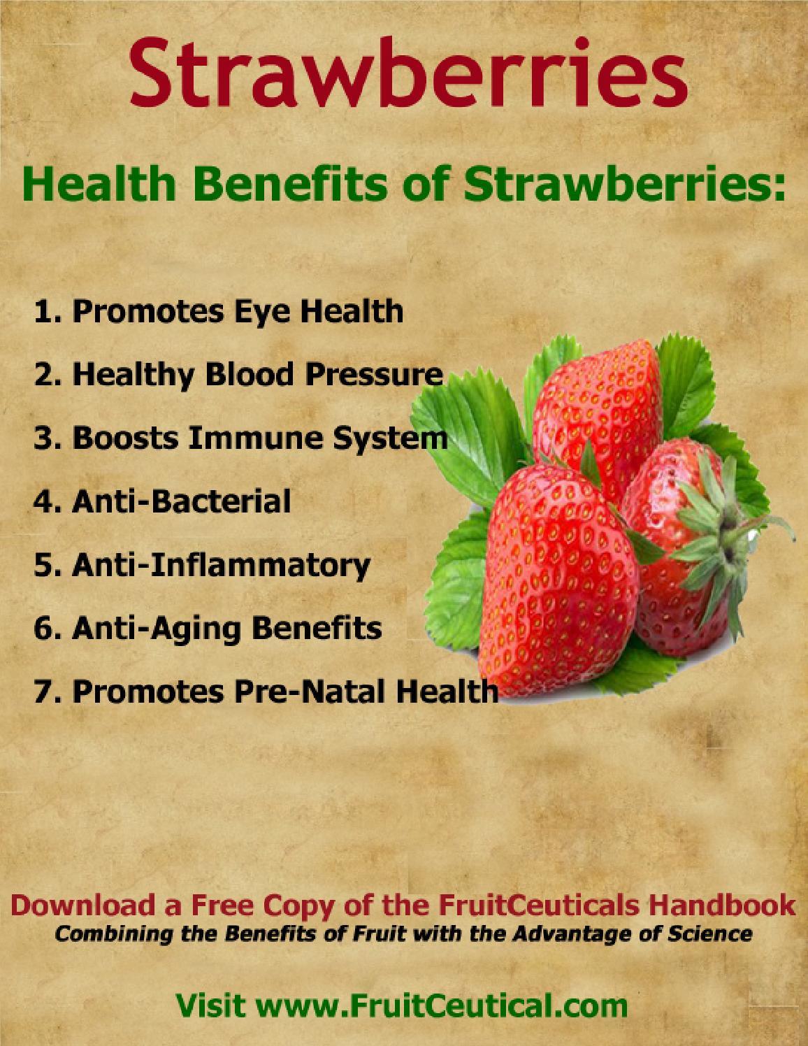 258956254 health benefits of strawberries by fe binan - Issuu