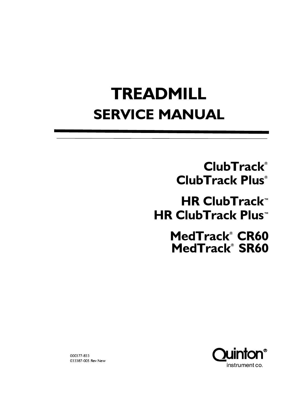 Product support quinton manuals hyperdrive service manual