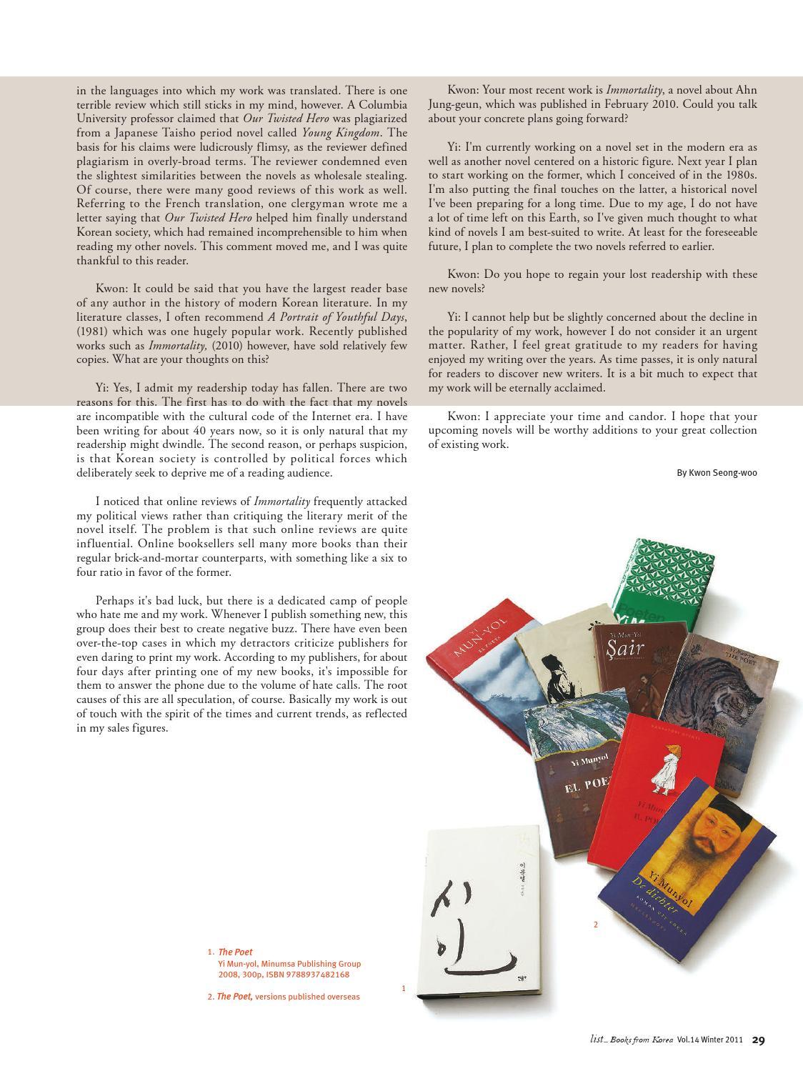 Korean Novel Books