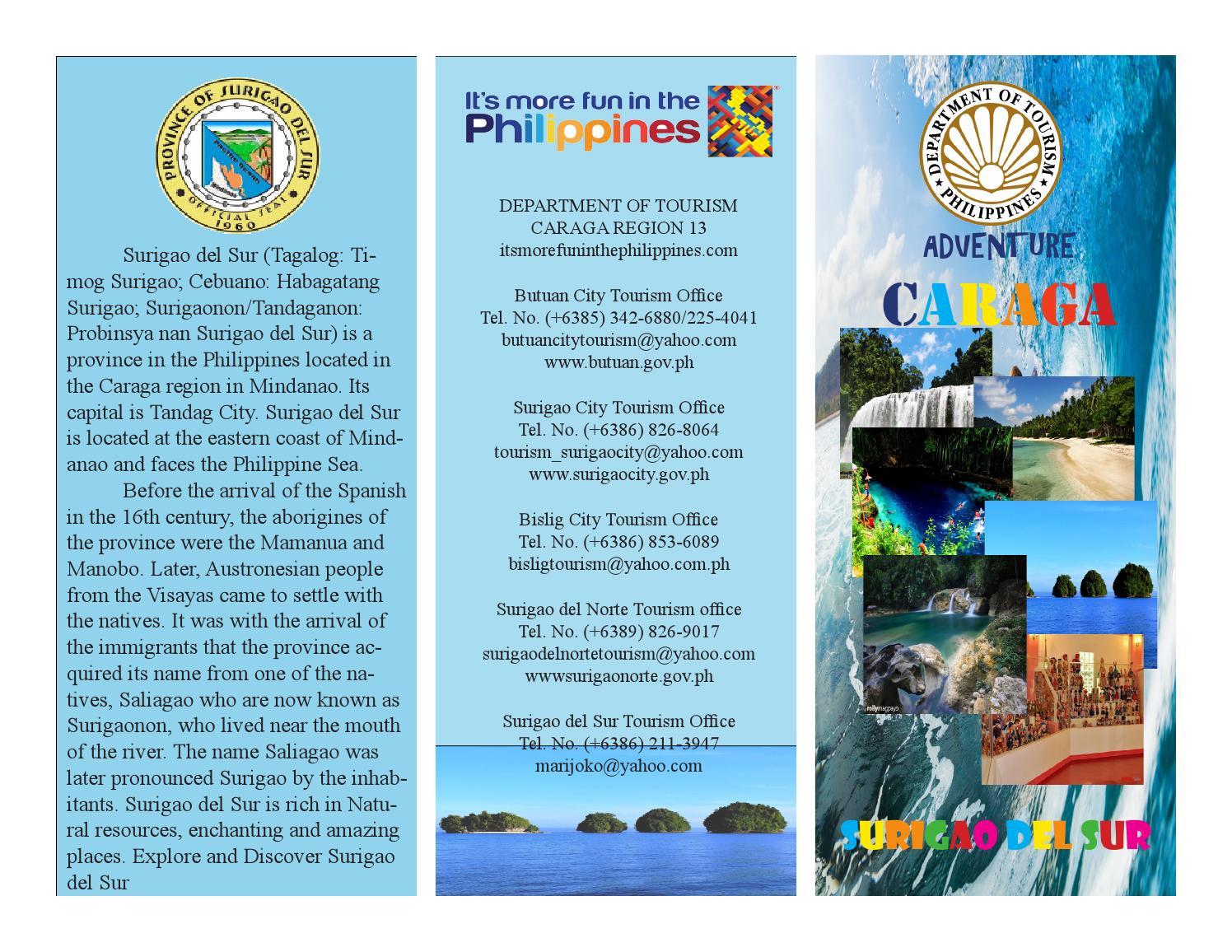 MJ Surigao Del Sur Brochure By RJ Danger Issuu