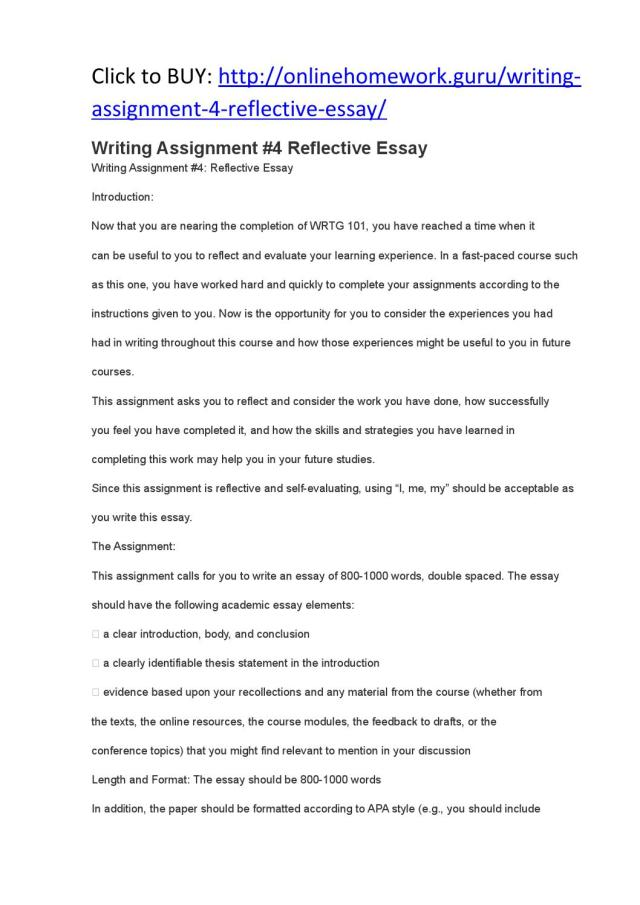 Writing assignment #26 reflective essay by Jackson26 - issuu