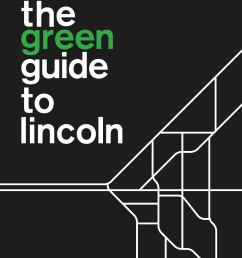 the green guide to lincoln [ 1156 x 1496 Pixel ]