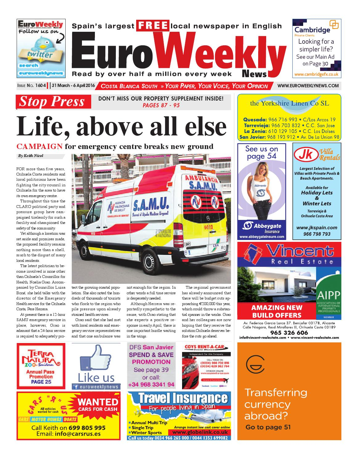 sofaland spain 7 seater sofa cover set euro weekly news costa blanca south 9 issuu autos post