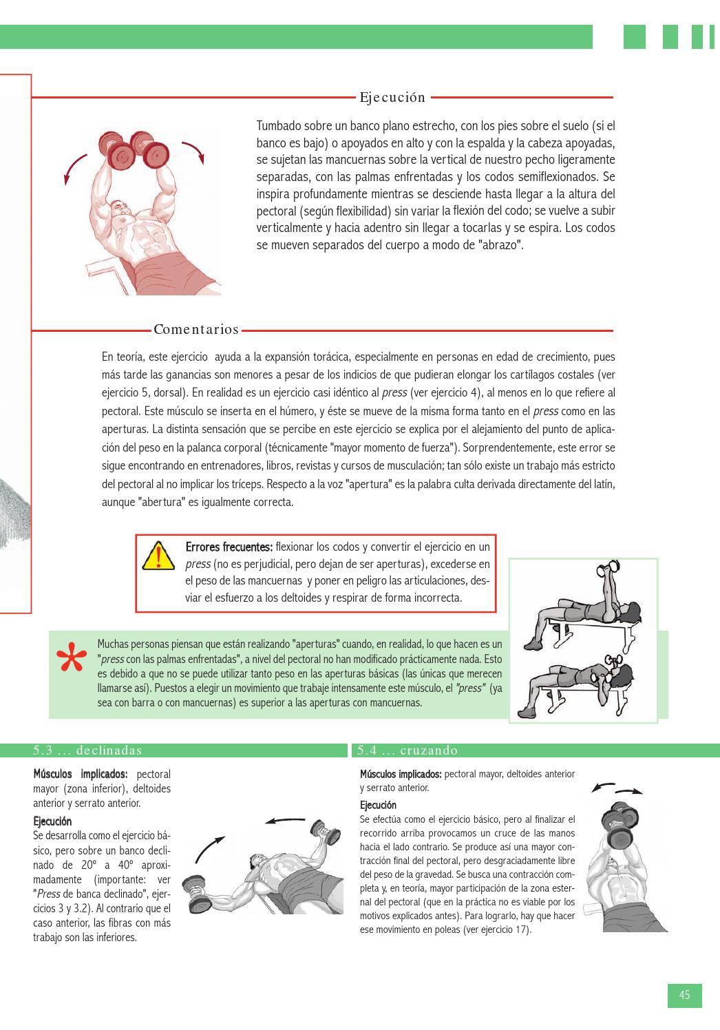 Enciclopedia De Ejercicios De Musculación By Efdgq - Issuu