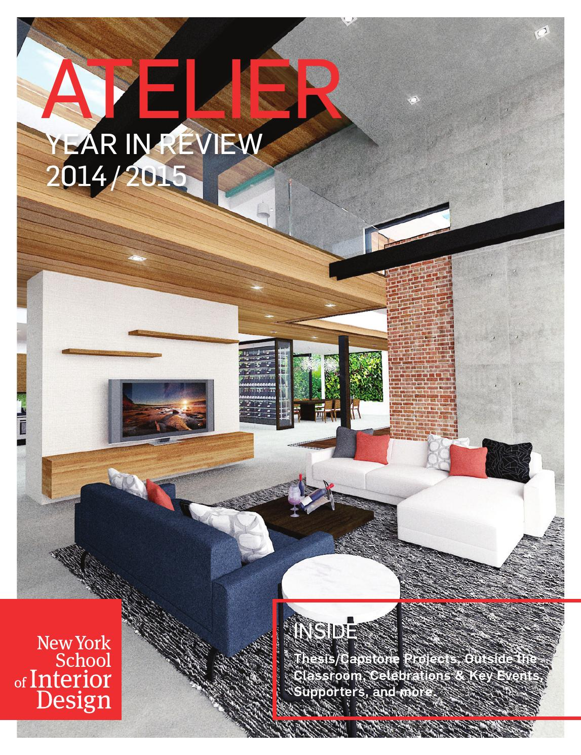 Atelier Year In Review 2017 By New York School Of Interior Design Issuu