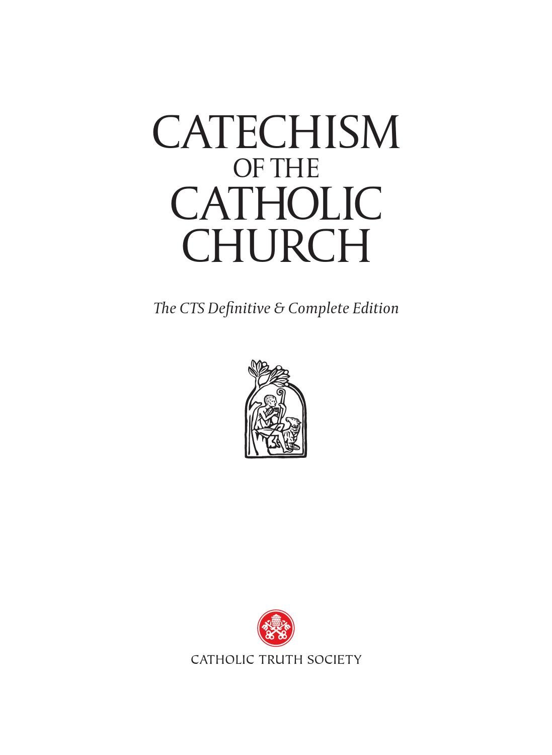 Catechism of the catholic church preview by Catholic Truth