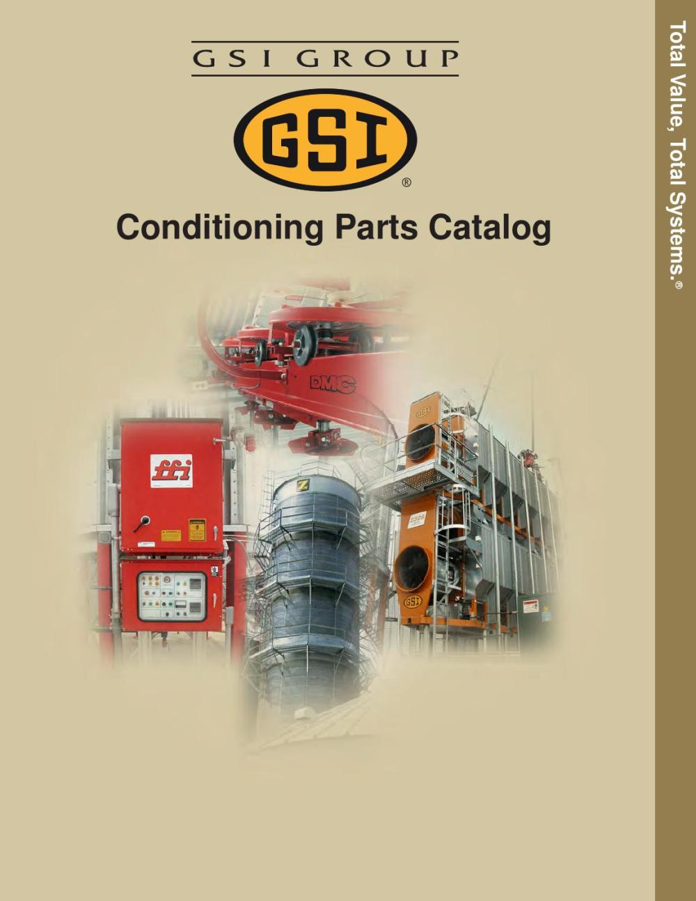 medium resolution of gsi conditioning parts catalog