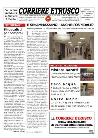 Corriere Etrusco n°142