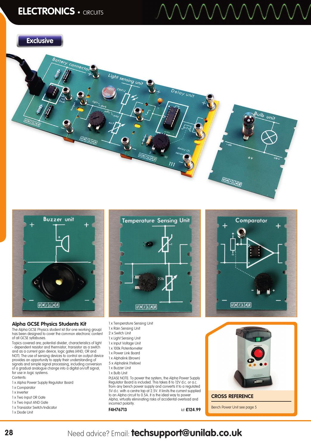 Simple Electronic Circuits For Students