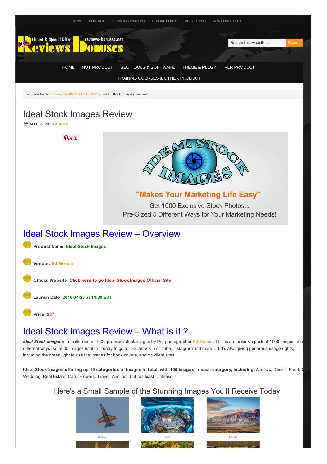 Ideal Stock Images Review by Kevin  Issuu