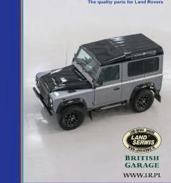 britpart 12 2016 katalog akcesori w land rover range rover lrpl mini by land serwis issuu [ 1058 x 1496 Pixel ]