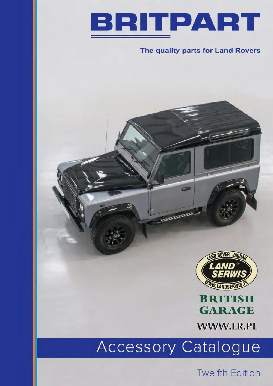medium resolution of britpart 12 2016 katalog akcesori w land rover range rover lrpl mini by land serwis issuu