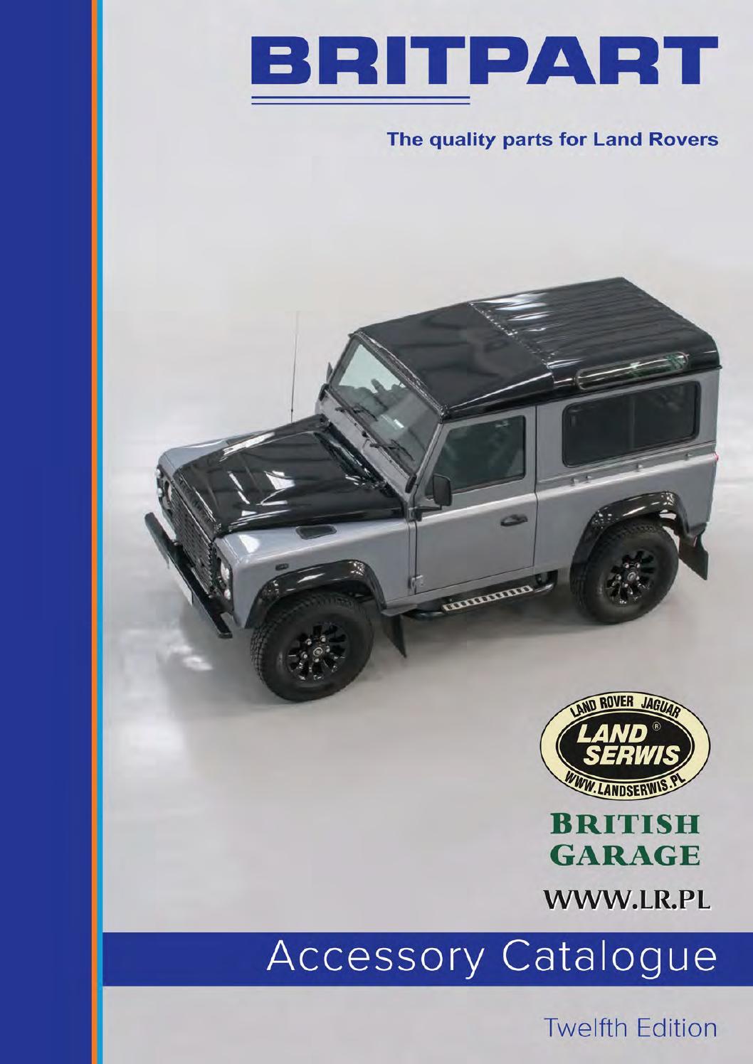hight resolution of britpart 12 2016 katalog akcesori w land rover range rover lrpl mini by land serwis issuu
