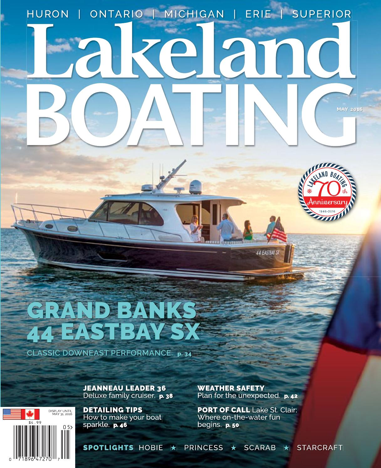 hight resolution of may 2016 by lakeland boating magazine issuu bayliner trophy wiring diagram on