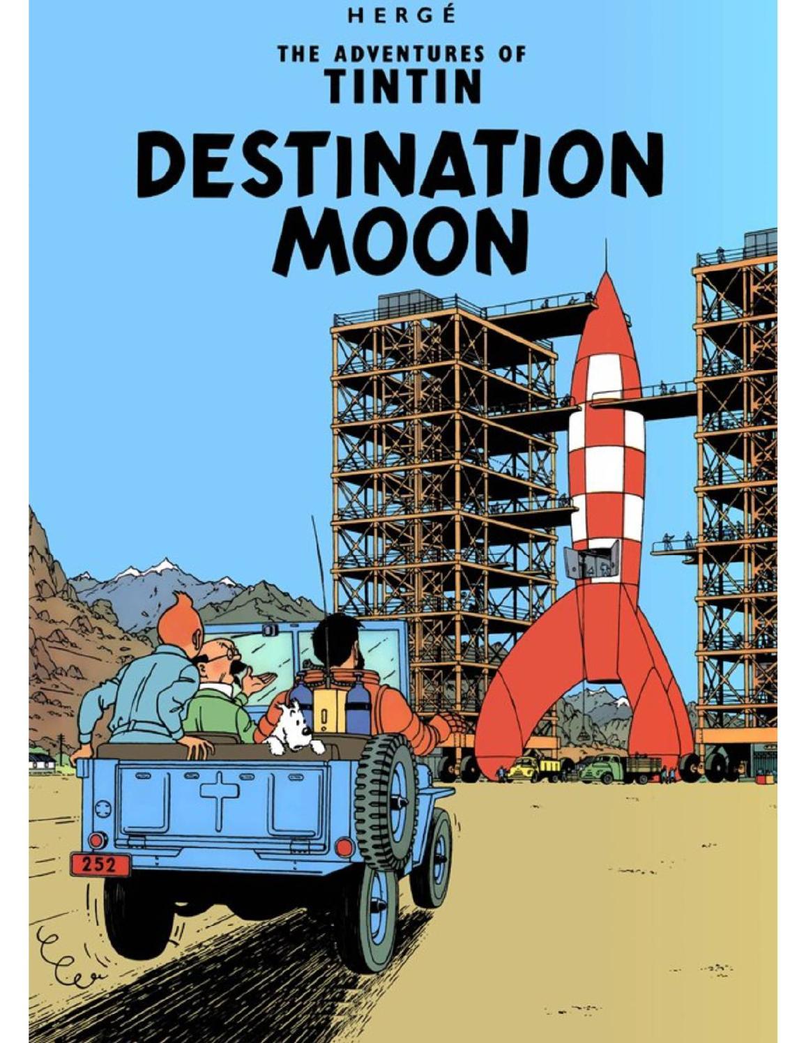 Destination... Lune ! : destination..., Adventures, Tintin, Destination, (1950), Issuu