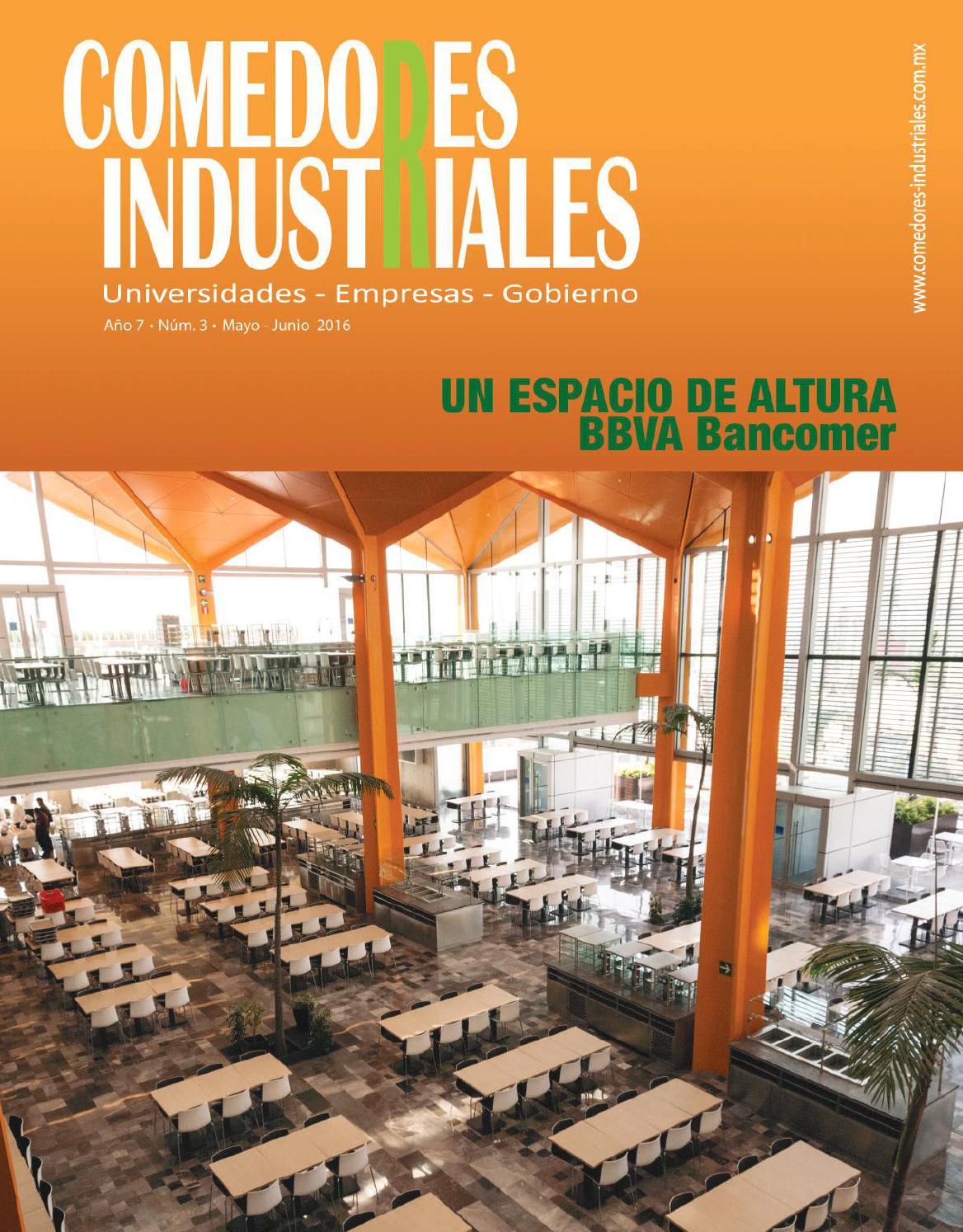 Comedores Industriales mayo  junio de 2016 by Editorial