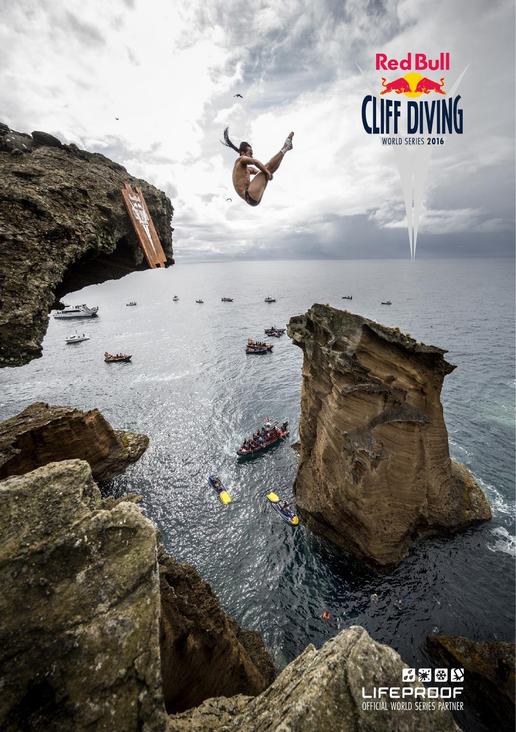 Red Bull Cliff Diving Height : cliff, diving, height, Cliff, Diving, World, Series, Media, House, Issuu