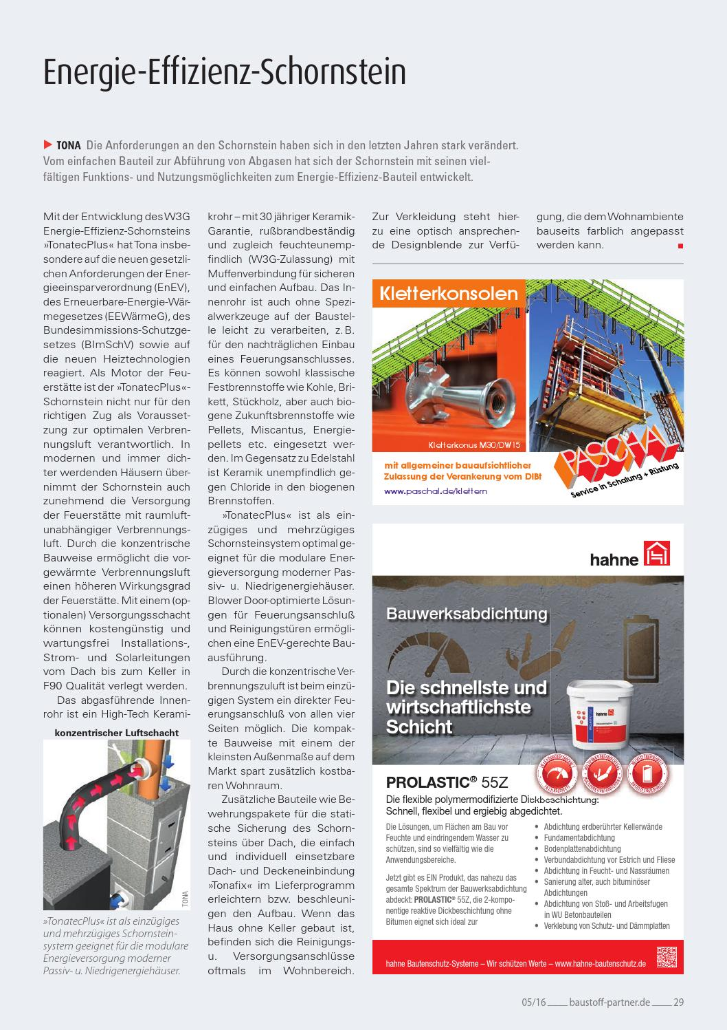 Baustoff-Partner Mai 2016 By Sbm Verlag Gmbh - Issuu