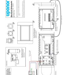 Wiring Diagram For Electric Underfloor Heating Forest Ecosystem Uponor Diagrams