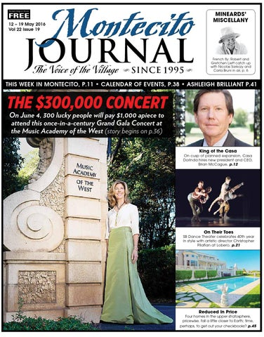 The $300,000 Concert by Montecito Journal - issuu