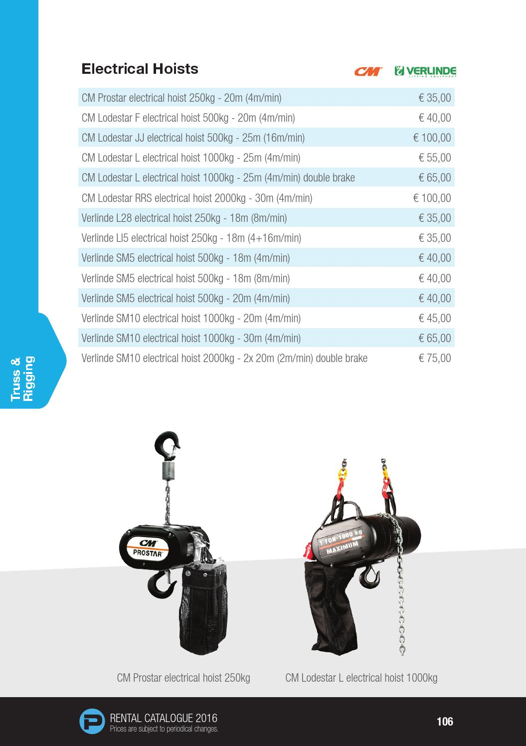 hight resolution of phlippo rental catalogue