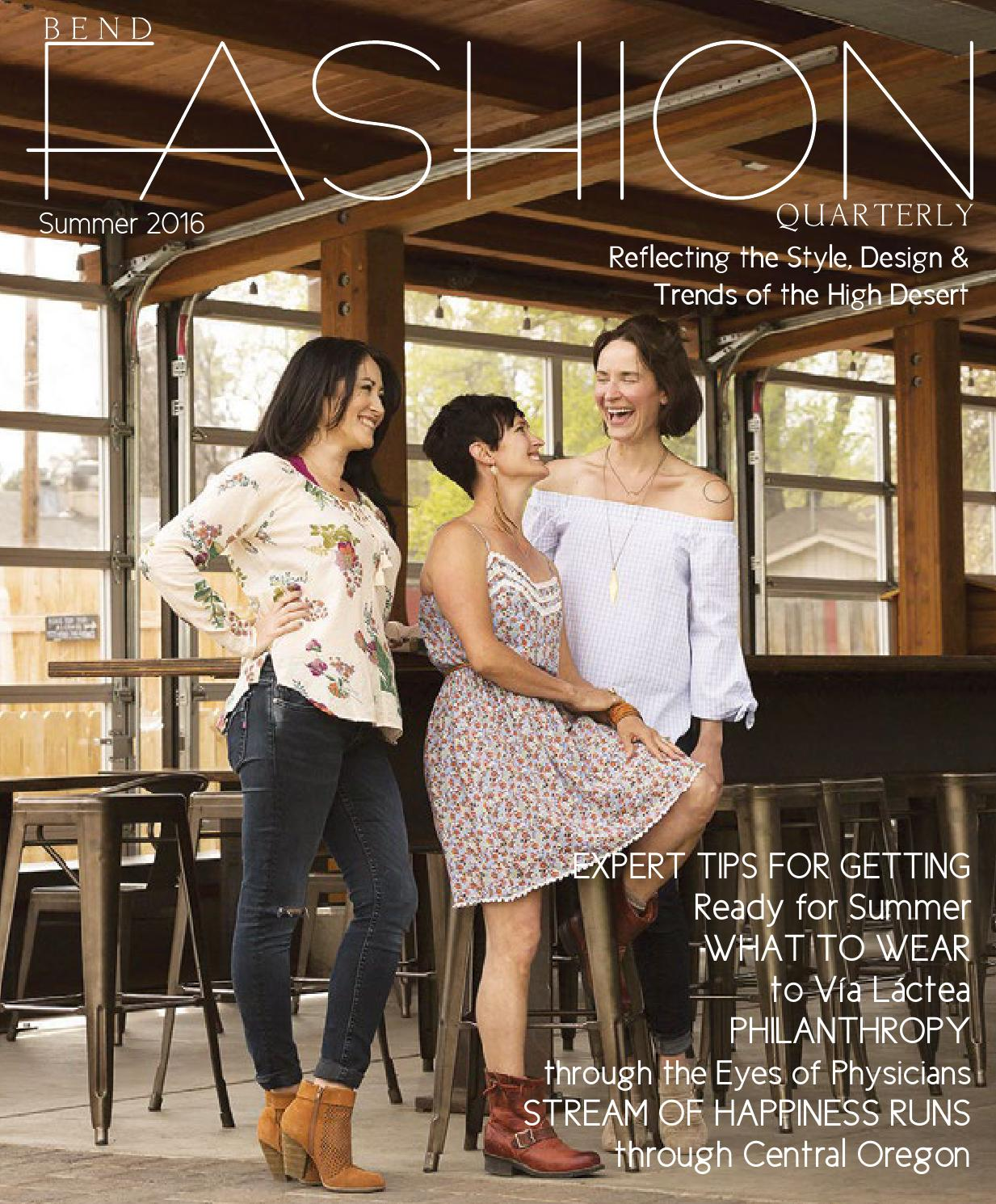 Bend Fashion Quarterly Summer 2016 By Cascade Publications