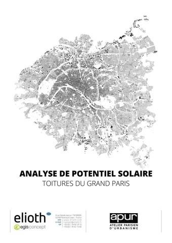 Analyse du potentiel solaire. Toitures du Grand Paris by