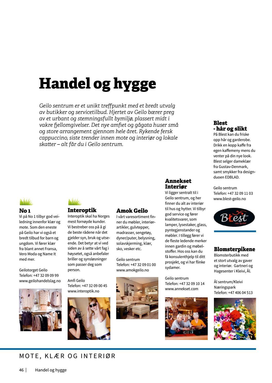9e2865861e2a Geilo Hele året I En Katalog Velkommen Til Fjells By Pål