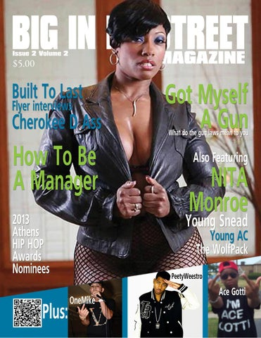 Big In Da Street Magazine Cherokee D Ass