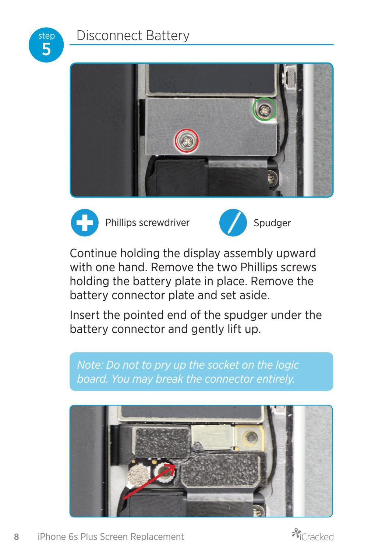 Iphone 8 Plus Screw Diagram : iphone, screw, diagram, ICracked, IPhone, Repair, Guide, Issuu